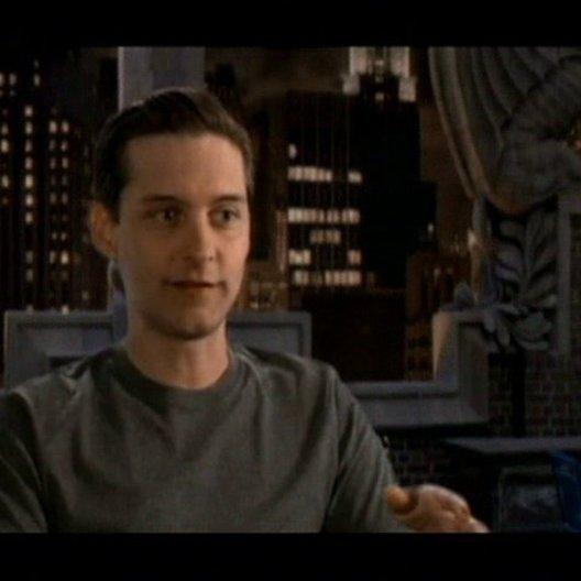 Interview mit Tobey Maguire - ''Peter Parker / Spider-Man'' - OV-Interview Poster