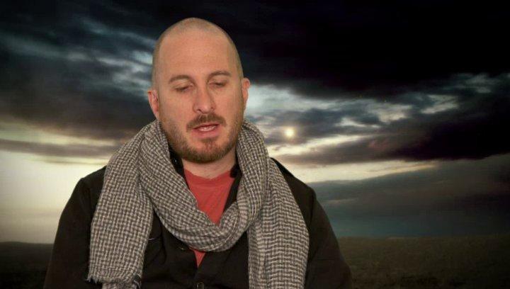 Darren Aronofsky - Regisseur und Co-Drehbuchautor - über Anthony Hopkins und seine Rolle Methuselah - OV-Interview Poster