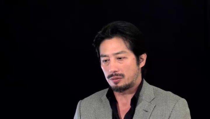 Hiroyuki Sanada (Nagase) über das Drehbuch - OV-Interview Poster