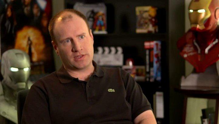 Kevin Feige - Produzent - über die Geschichte des Films - OV-Interview Poster