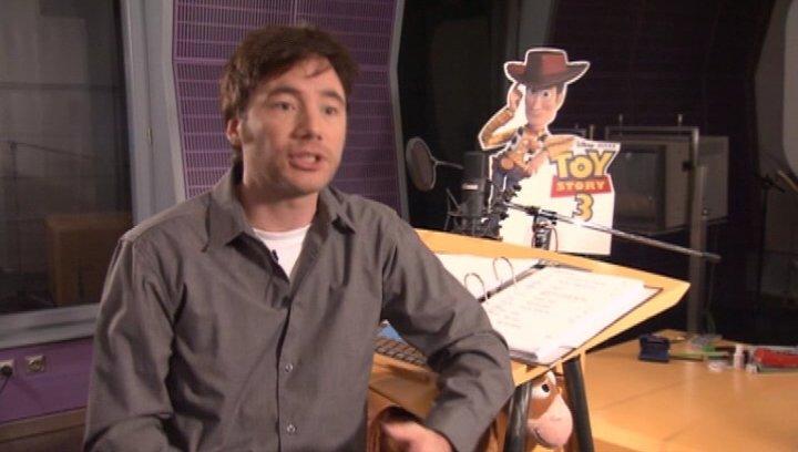 MICHAEL BULLY HERBIG / Woody über die Sorgfalt in TOY STORY 3 - Interview Poster