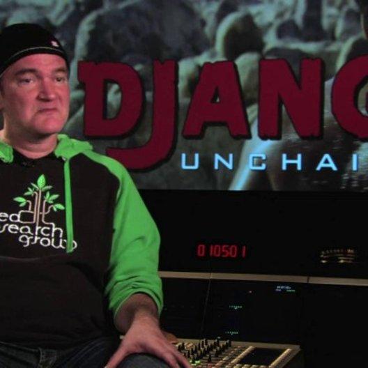 Quentin Tarantino über den Dreh mit den Büffeln und Elchen - OV-Interview Poster