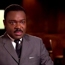 David Oyelowo - Martin Luther King - über den Mut der Manschen die im Film dargestellt werden - OV-Interview Poster