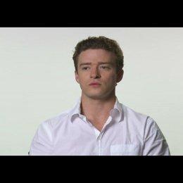 """Justin Timberlake (""""Sean Parker"""") über die Dreharbeiten - OV-Interview Poster"""