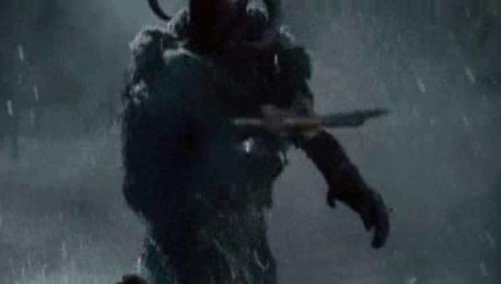 Schwertkampf im Flussbett - Szene Poster