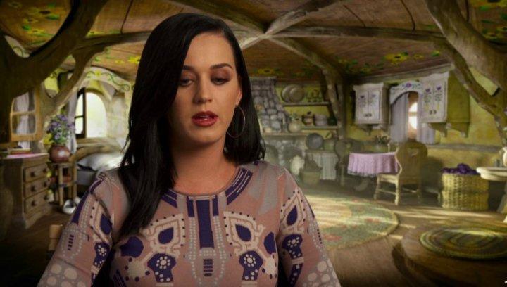 Katy Perry -Schlumpfine (USA)- darüber, wie der erste Teil mit dem Zweiten zusammenhängt - OV-Interview Poster