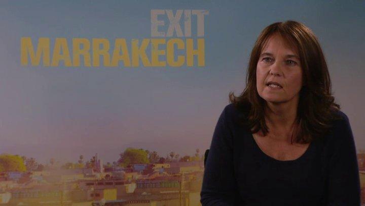 Caroline Link - Regisseurin - über Inspiration in Marokko - Interview Poster