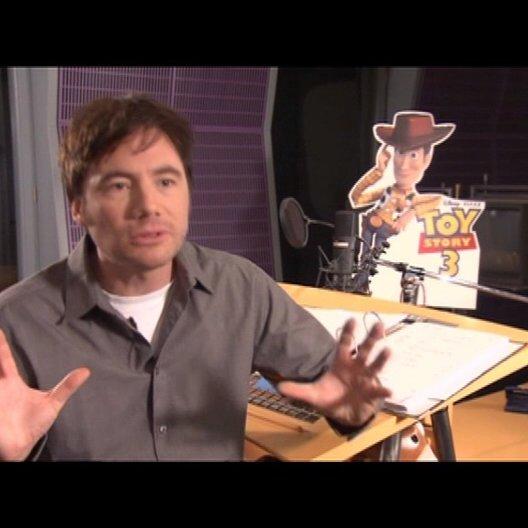 MICHAEL BULLY HERBIG / Woody über die Geschichte von TOY STORY 3 - Interview Poster