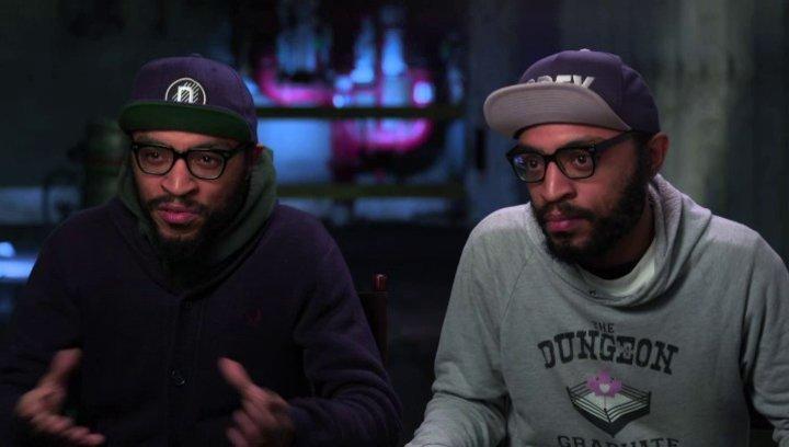 Kenny und Keith Luca über Action und Comedy in dem Film - OV-Interview Poster