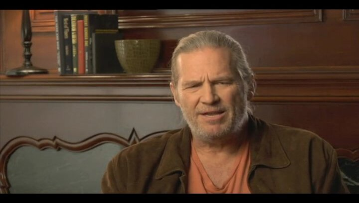 Jeff Bridges über den Reiz des Projektes - OV-Interview Poster