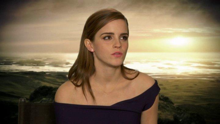 Emma Watson - Ila - über Russell Crowe - OV-Interview Poster