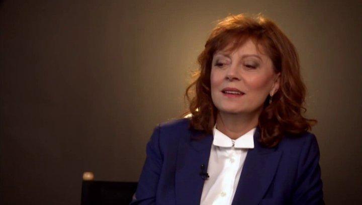 Susan Sarandon -Bebe- über den Cast - OV-Interview Poster