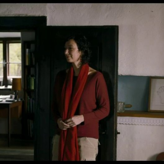 Verena und der Doktor nähern sich an - Szene Poster