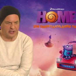 Uwe Ochsenknecht - Captain Smek - über Animationsfilme - Interview Poster