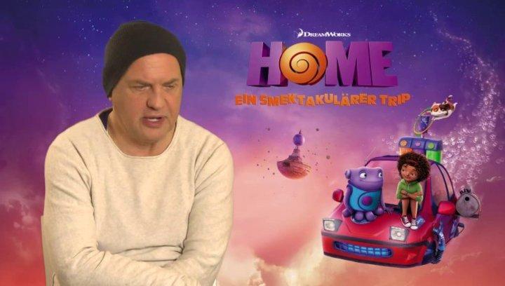 Uwe Ochsenknecht - Captain Smek - über Animationsfilme - Interview Poster