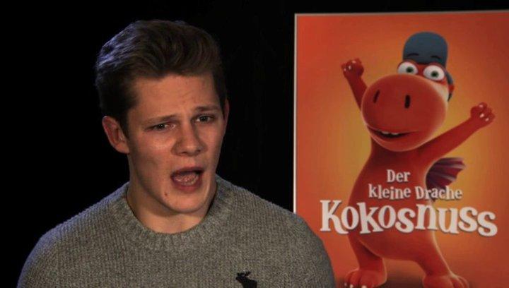 Max von der Groeben über den Drachen Kokosnuss - Interview Poster