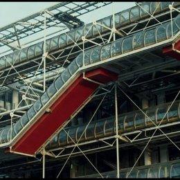Das Centre Pompidou Glastunnel (englisch) - Szene Poster