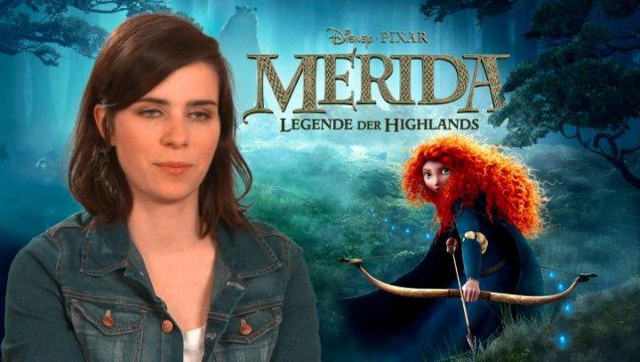 Nora Tschirner - Deutsche Stimme Merida - über Disney Pixar - Interview Poster