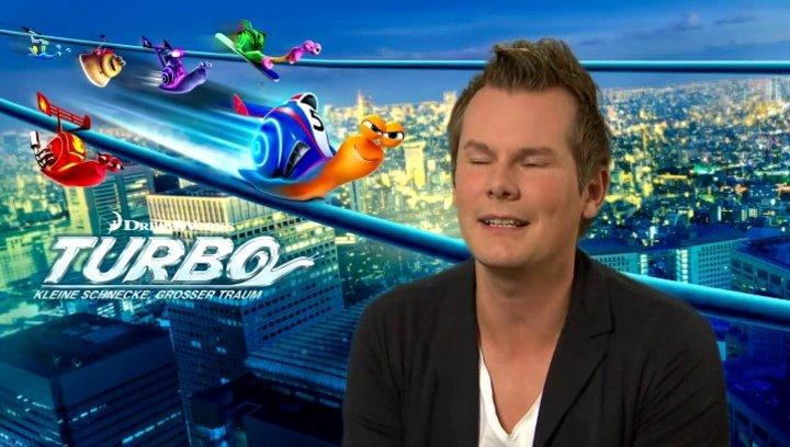 Malte Arkona - Turbo - darüber, wann er sich das letzte mal wie eine Schnecke gefühlt hat - Interview Poster