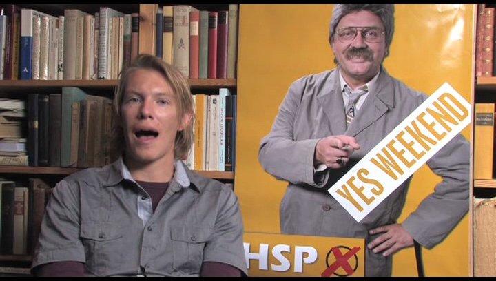 Simon Gosejohann über die Komik am Set - Interview Poster