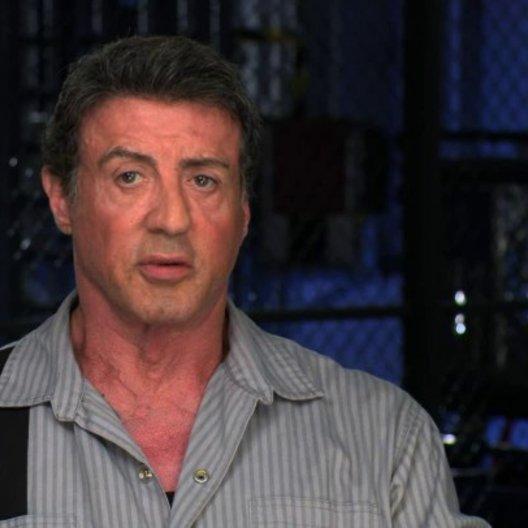 Sylvester Stallone über die Geschichte - OV-Interview Poster