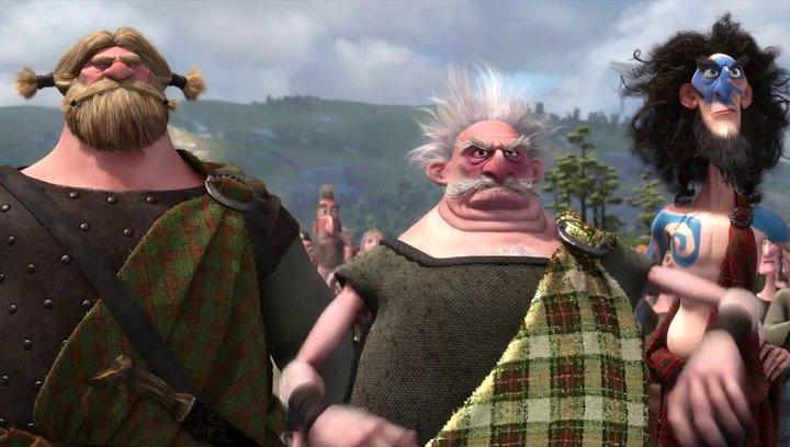 Merida - Legende der Highlands - Trailer Poster