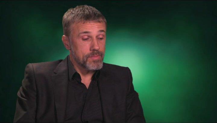 Christoph Waltz über seine Rolle - OV-Interview Poster