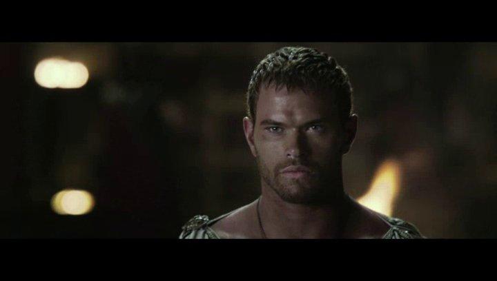 Hercules wird in den Krieg geschickt - Szene Poster