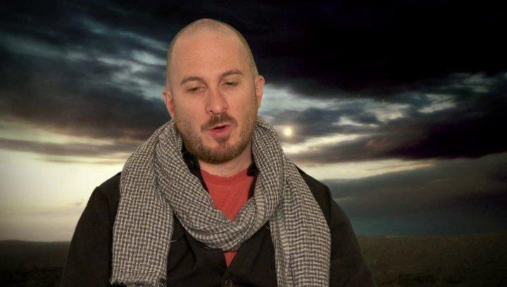 Darren Aronofsky - Regisseur und Co-Drehbuchautor - über die Entscheidung die Tiere mit Visual Effects zu erstellen - OV-Interview Poster