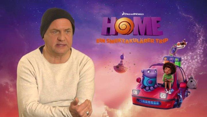 Uwe Ochsenknecht - Captain Smek - über die dritte Dimension - Interview Poster