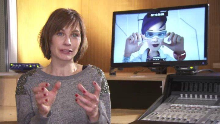 Christiane Paul (Micro Minitec) darüber wer Micro Minitec ist - Interview Poster