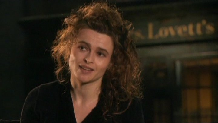 Interview mit Helena Bonham Carter ( Mrs. Lovett ) - OV-Interview Poster