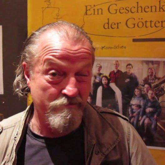 Paul Faßnacht grüßt Ulm zur Premiere von Ein Geschenk der Götter - Sonstiges Poster
