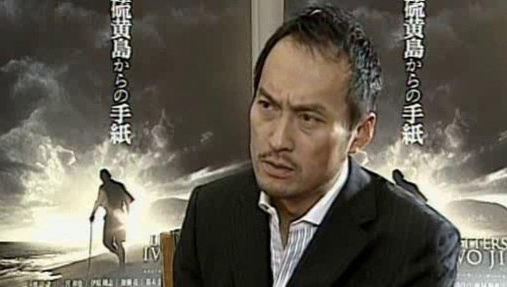 Ken Watanabe über die Zusammenarbeit mit Klint Eastwood, seine Figur General Tadamichi Ku und die Dreharbeiten - OV-Interview Poster