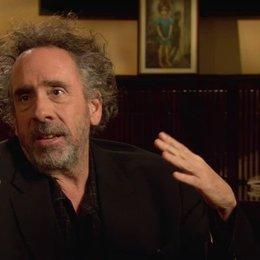 Tim Burton - Regisseur - über die öffentliche Reaktion auf Margaret Keanes Kunst - OV-Interview Poster