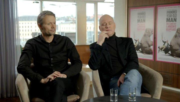 Robert Gustafsson - Allan Karlsson - über seine Figur Allan Karlsson - OV-Interview Poster
