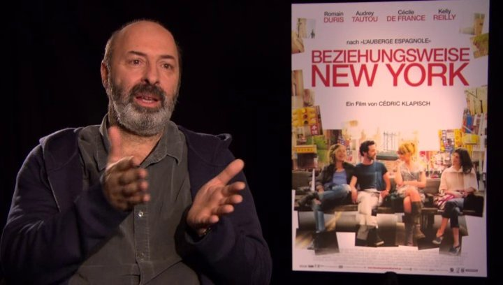 Cedric Klapisch - Regisseur - über den Anfang des Films - OV-Interview Poster