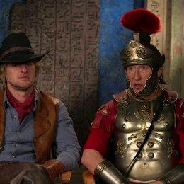 Owen Wilson und Steve Coogan darüber, dass Shawn Levy Zeit für Improvisationen erlaubt - OV-Interview Poster