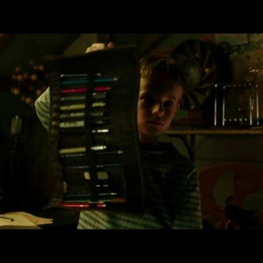 T.S. Spivet (Kyle Catlett) packt seinen Koffer - Szene Poster