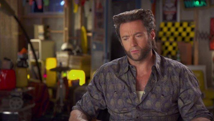 Hugh Jackman - Wolverine - darüber, warum seine Rolle in der Zeit zurück geschickt wurde - OV-Interview Poster
