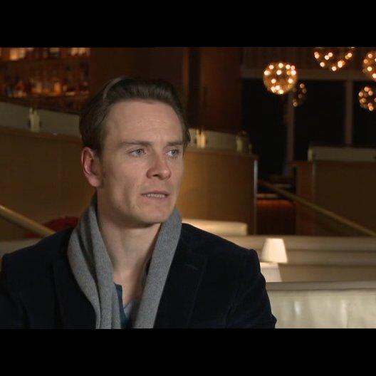 Michael Fassbender über die Herausforderungen bei den Dreharbeiten - OV-Interview Poster