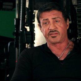 Sylvester Stallone -Barney Ross- über Van Damme, wie man ihn noch nie gesehen hat - OV-Interview Poster