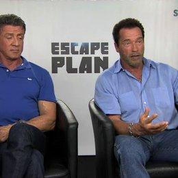 Stallone und Schwarzenegger über Emil Rottmayer - OV-Interview Poster