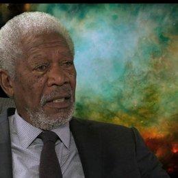 Morgan Freeman - Professor Norman - über seine Rolle - OV-Interview Poster