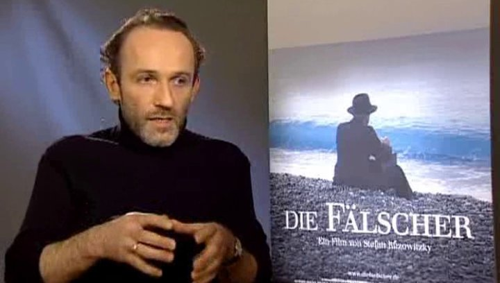 Interview mit Karl Markovics (Salomon Sorowitsch) über die Ambivalenz seiner Figur und die Bedeutung des Gewissens. Poster