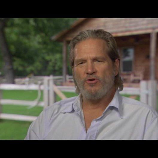 Jeff Bridges (Rooster Cogburn) über die Coen Brüder - OV-Interview Poster