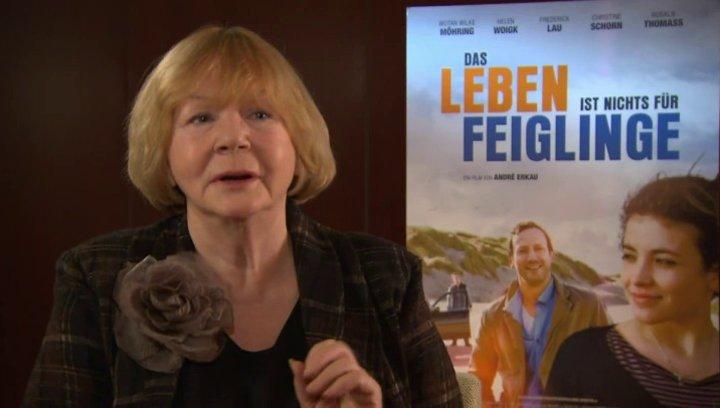 Christine Schorn darüber, wie ihr der Film gefallen hat - Interview Poster