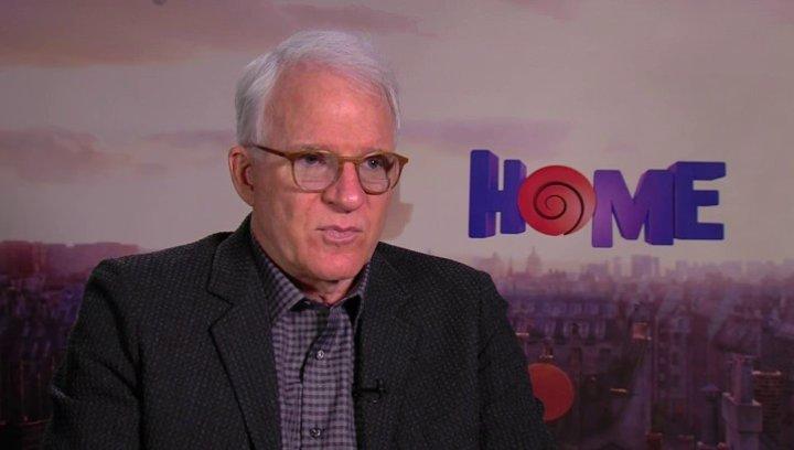 Steve Martin über die Aussage des Films - OV-Interview Poster