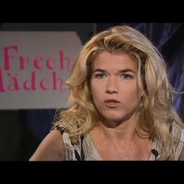 Interview mit Anke Engelke (Milas Mutter) Poster