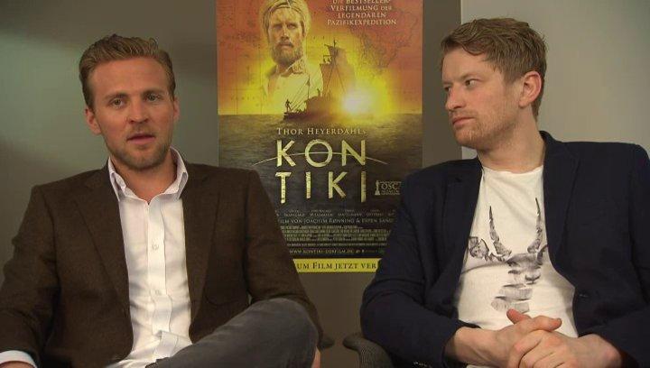 Tobias Santelmann und Magnus Williamson darüber wie er zu der Rolle kam - OV-Interview Poster